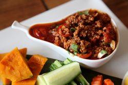 Nam prik ong, Thai Diva Cuisine, Sunnyside, Queens