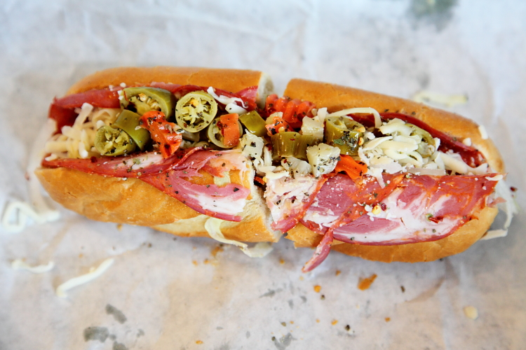 The Crazy Dave, Dave's Cosmic Subs, Cleveland Heights, Ohio