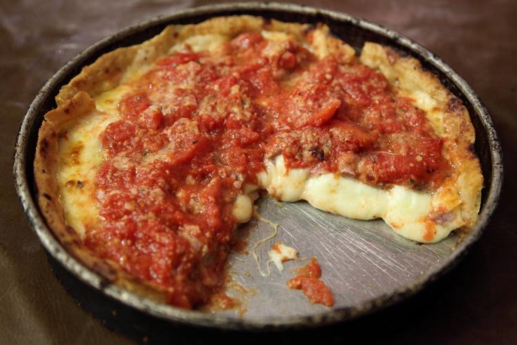 Chicago classic, Lou Malnati's Pizzeria, Chicago
