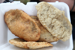 Fried meat pies, Mongols Naadam Celebration, Central Park, Manhattan