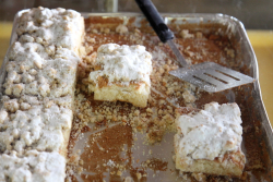 Crumb cake, Cucuzzella's Bakery, Newark, New Jersey