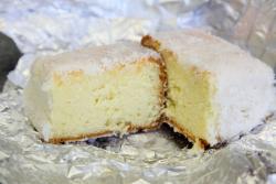 Bolo gelado, Pao da Vida Bakery, Newark, Jersey