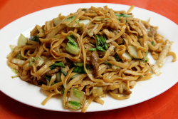 Chow mein, Best Fuzhou Restaurant, Eldridge St, Manhattan
