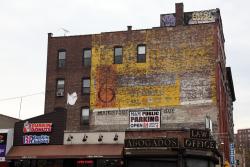 Surviving electronics-store signage, Melrose, Bronx