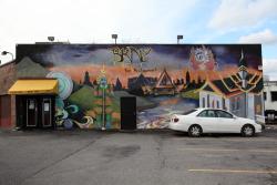 Mural, BKNY Thai Restaurant, Bayside, Queens