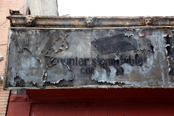 Counter steam table, surviving signage, Crown Heights, Brooklyn