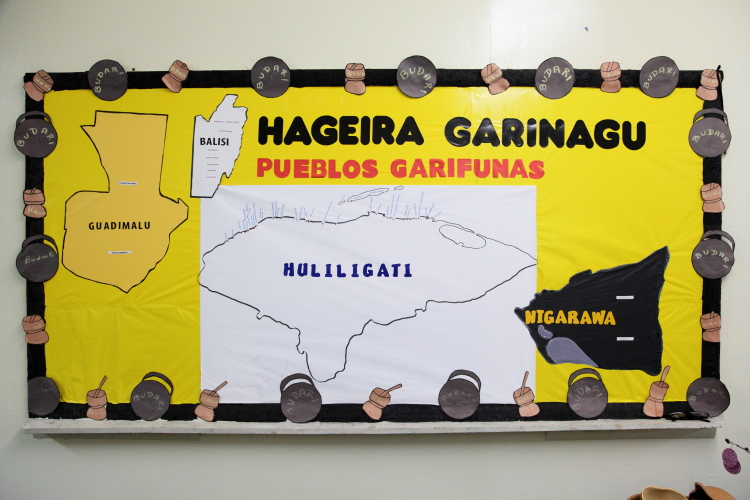 Map of the Garifuna diaspora in Guatemala  Belize  Honduras  and Nicaragua  Evangelical Garifuna Council of Churches  Mott Haven  Bronx
