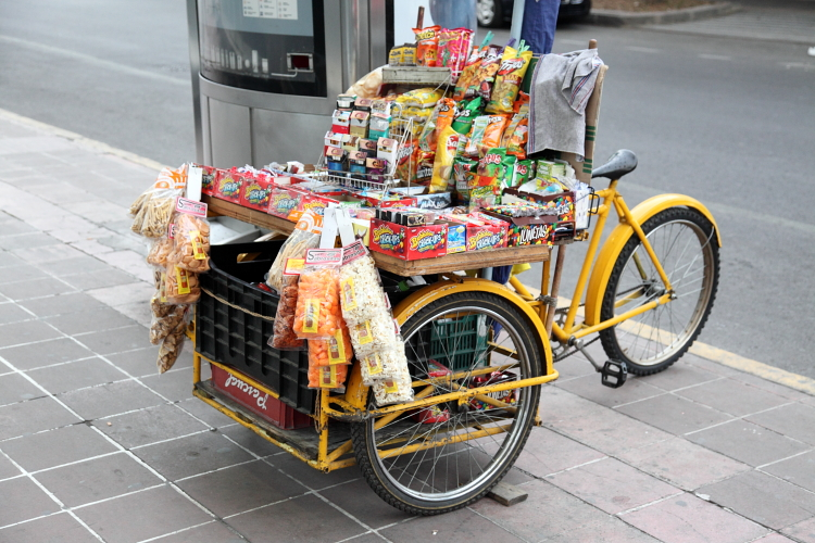 Snack cycle  Mexico City