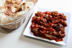 Sauteed eggplant  Hazar Turkish Kebab  Bay Ridge  Brooklyn