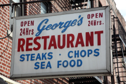 George's Restaurant  Ditmas Park  Brooklyn