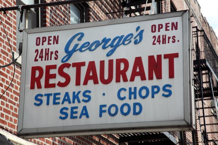 George's Restaurant  Ditmas Park  Brooklyn