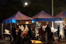 Spicy sweet-potato noodles stall  Queens International Night Market  Corona  Queens
