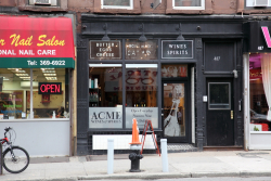 Acme Wines & Spirits with surviving signage from a former German delicatessen  Park Slope  Brooklyn