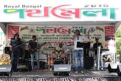 Musical performers  Royal Bengal Street Fair  Norwood  Bronx