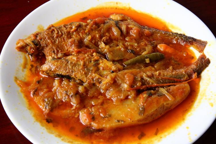 Pabda curry  Ruma's Kitchen  Woodside  Queens