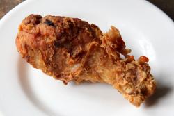 Fried chicken  Blvd Bistro  Lenox Ave  Manhattan