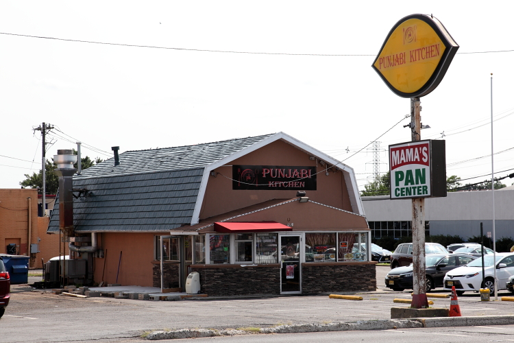Punjabi Kitchen and Mama's Pan Center  on the site of a former Dairy Queen  Edison  New Jersey