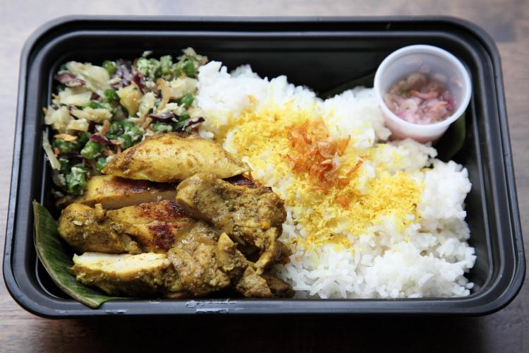Ayam betutu  Bali Kitchen  East 4th St  Manhattan