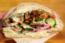 Kotti doner kebab  Kotti Berliner Doner Kebab  DeKalb Market Hall  Downtown Brooklyn