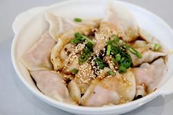 Dumplings in hot oil  Little Pepper  College Point  Queens