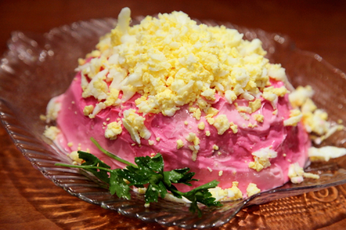 Herring salad  Stolovaya  Homecrest  Brooklyn