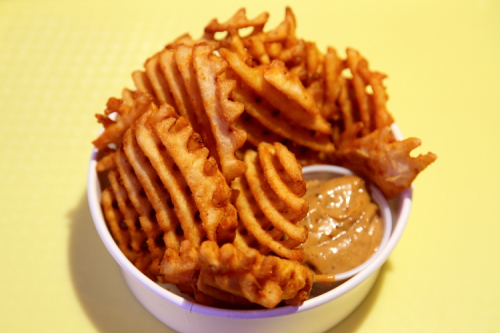 Jaja waffle fries  Junzi Kitchen  Broadway  Manhattan