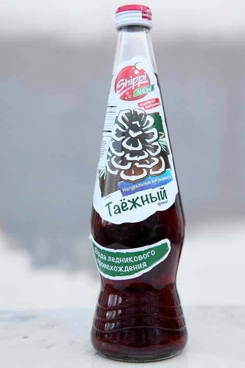 Shippi brand taiga-flavor soda  Tashkent Supermarket  Brighton Beach  Brooklyn