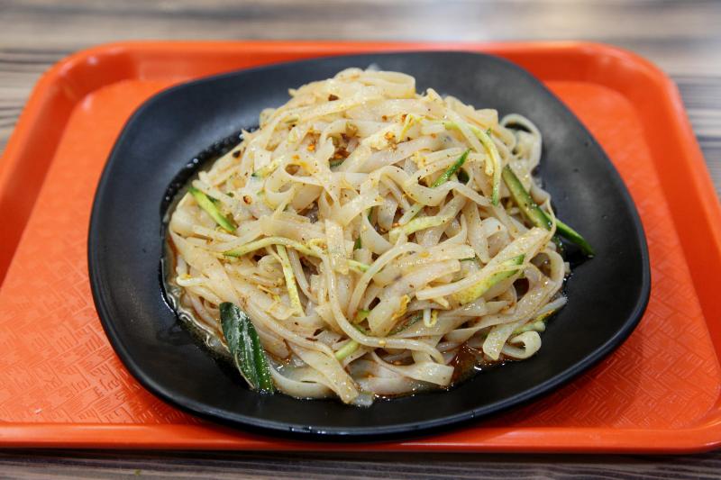 Handmade cold noodles (ganmian pi)  Miss Li's Henan Cuisine  Flushing  Queens