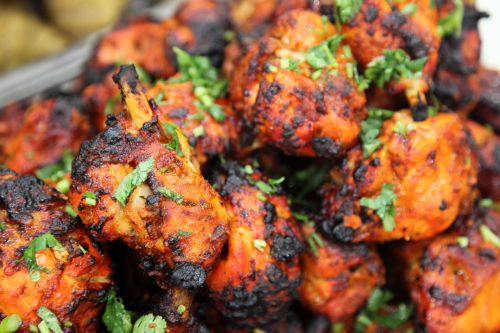 Chicken tandoori  Queens Dinner Club  Boishakhi  Astoria  Queens