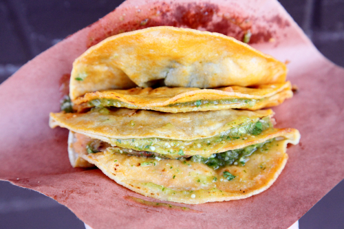 Tacos de canasta  Jackson Heights  Queens