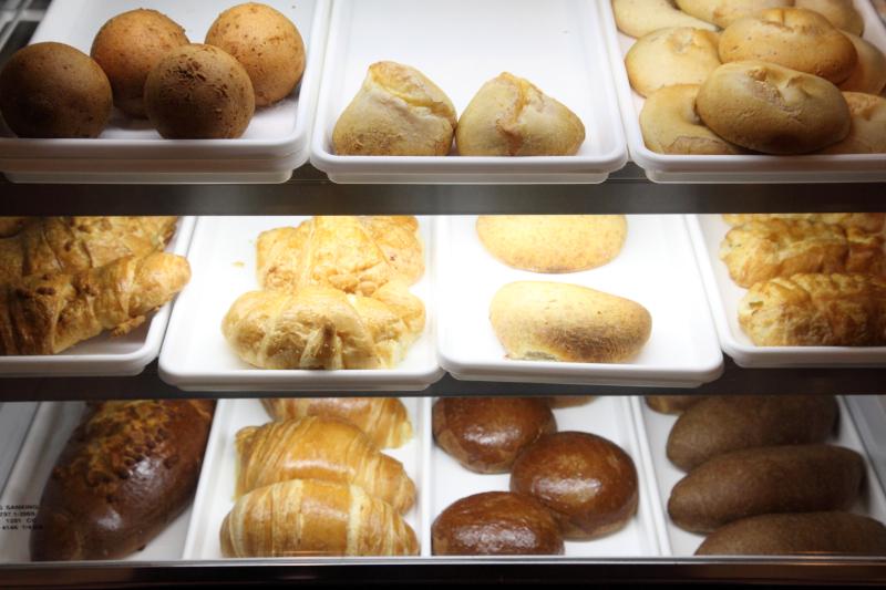 Bakery display case  Blue (lower level)  Elmhurst  Queens