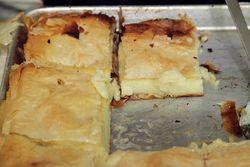 Galactobureko, Saint Spyridon Greek Food Festival and Bazaar, Wadsworth Avenue, Manhattan
