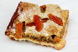 Apricot-pistachio square, Black Currant, Ridgewood Market, Ridgewood, Queens