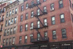 Dayton Corsa, and Morrison & Boinest, coffee and tea merchants, Hubert Street, New York