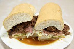 Ferdi special, Mother's Restaurant, New Orleans