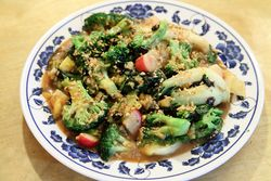 Delta bok and broccoli, Red's Chinese, New Orleans