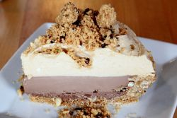 Peanut butter and chocolate pie, Cochon Butcher, New Orleans