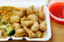 Sweet and sour chicken, Foo Hing, Mott Haven, Bronx