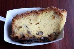 Rum cake, Harlem Karibe, Adam Clayton Powell Junior Boulevard, Manhattan