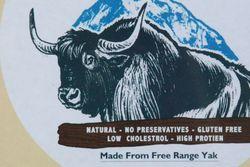 Sign for Nepali cheese made from free-range yak, Chautari Restaurant, Jackson Heights, Queens
