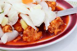Pollo cinco sabores, Chifa Jade, Paterson, New Jersey