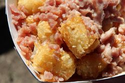 Pork roll tots, The Tot Cart, Trenton Pork Roll Festival, Mill Hill Park, Trenton, New Jersey