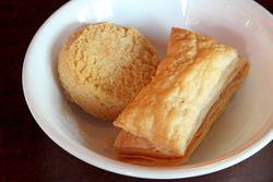 Nan khatai and khari biscuit, Fido's Cafe, Jersey City