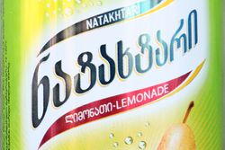 Natakhtari brand pear lemonade, Tatuka, Midwood, Brooklyn