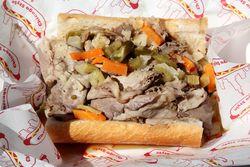Italian beef sandwich, 2nd City Beef, Viva La Comida, Elmhurst, Queens