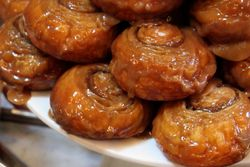Sticky buns, Sadelle's, West Broadway, Manhattan