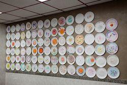 Customer artwork, Mario's Pizza & Restaurant, Jackson Heights, Queens