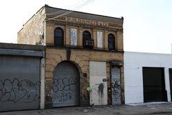 PM Ohmeis & Co, surviving signage, Mott Haven, Bronx