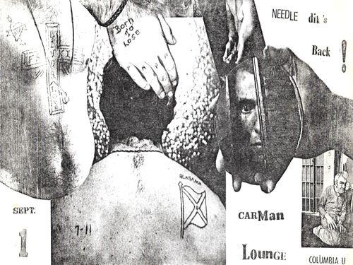 Needle Dik, Carman (Needle Dik's back)