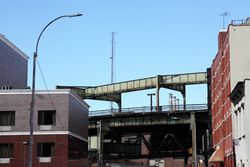 Elevated lines, Cypress Hills, Brooklyn